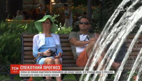Жара не планирует отступать из Украины