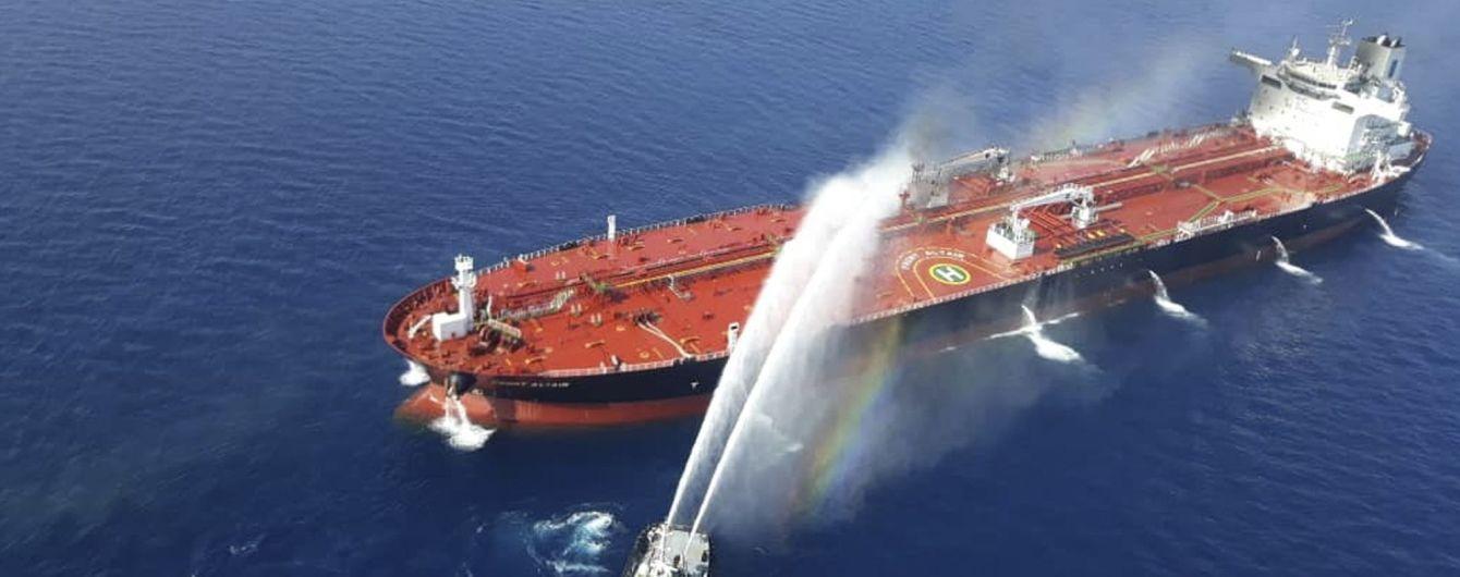 США опубликовали видео с доказательствами причастности Ирана к взрывам на танкерах в Оманском заливе