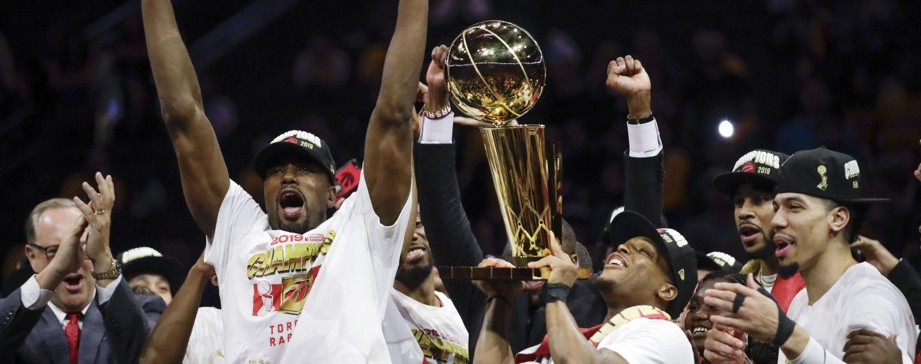 """""""Торонто"""" здолав """"Голден Стейт"""" та став першим переможцем НБА з Канади"""