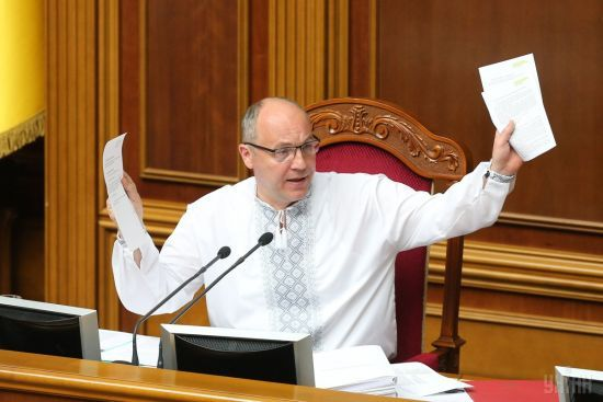 Парубій передав до КС документи, яких не вистачало під час розгляду указу про розпуск парламенту