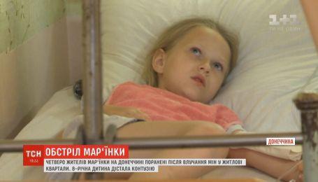 8-летнего ребенка контузило в результате вражеских обстрелов в Донецкой области