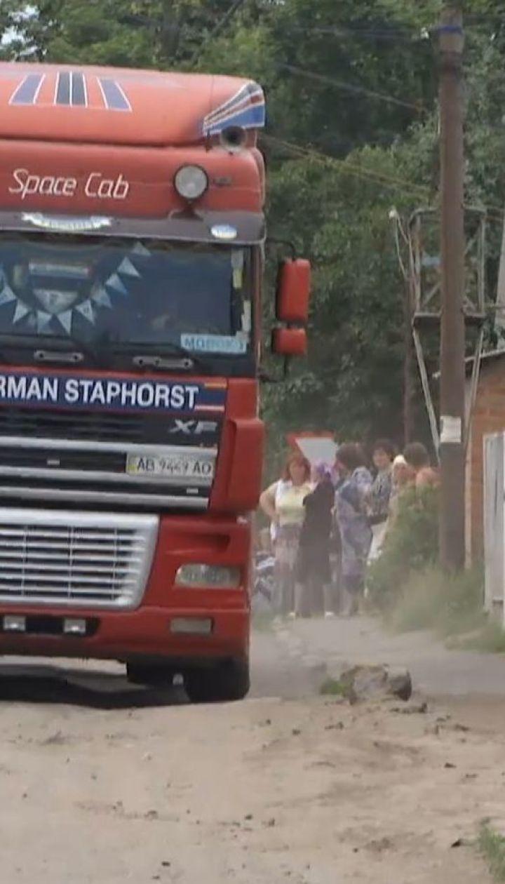 Многотонные фуры с маслозавода разрушают дороги и дома - жители Тульчина