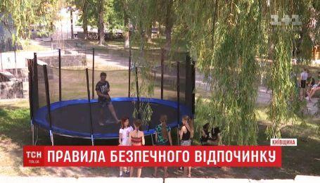 Правила безопасного отдыха детей в летних лагерях