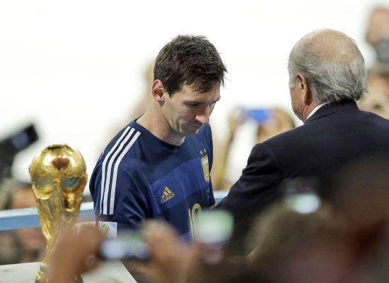 Експрезидент ФІФА розкрив слова Мессі після поразки у фіналі ЧС-2014