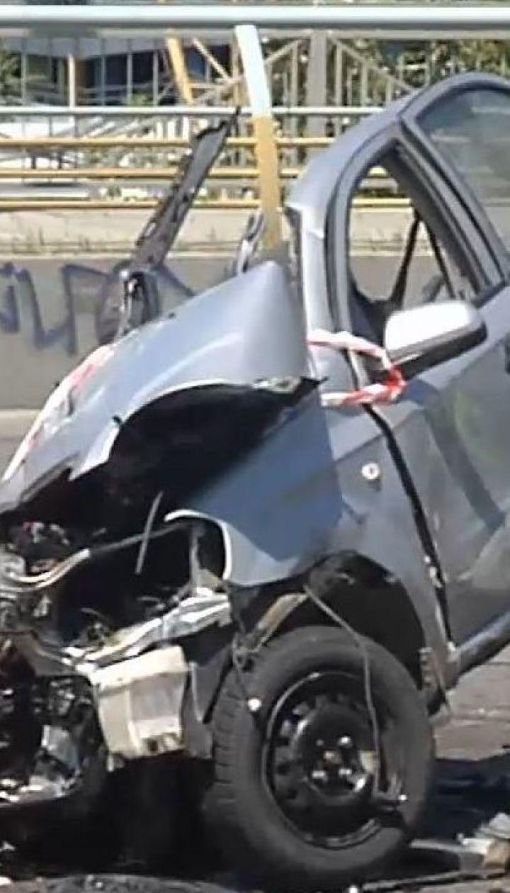 Упродовж дня на українських дорогах сталися кілька масштабних аварій