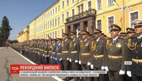 В Академии сухопутных войск во Львове более 700 офицеров присягнули на верность Украине