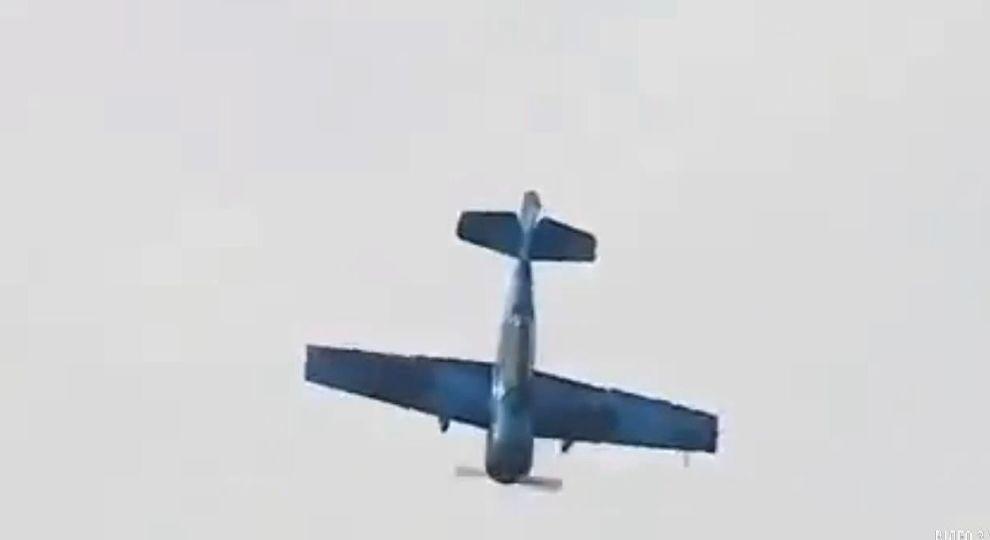 В Польше во время авиашоу упал самолет: видео