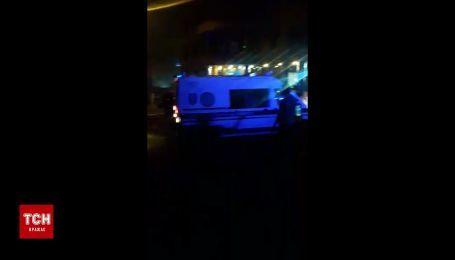 В центре Киева произошел мощный взрыв