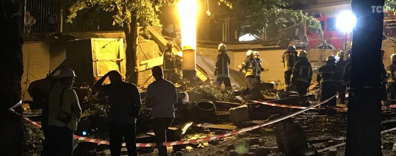 Возле цирка в Киеве произошел взрыв