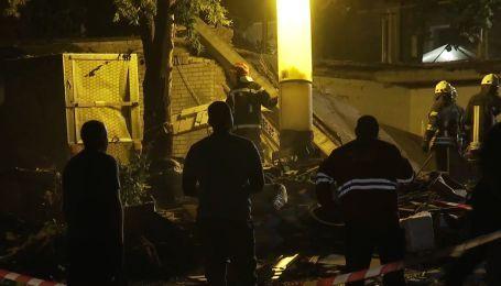 Потужний вибух у Києві: серед версій – розрив газових балонів
