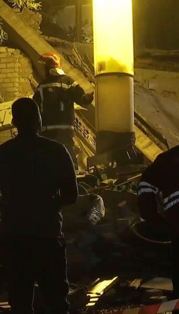 Мощный взрыв в Киеве: среди версий - разрыв газовых баллонов
