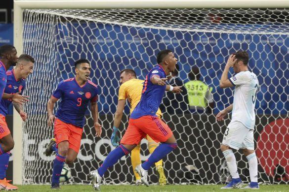 Аргентина - Колумбія, Кубок Америки