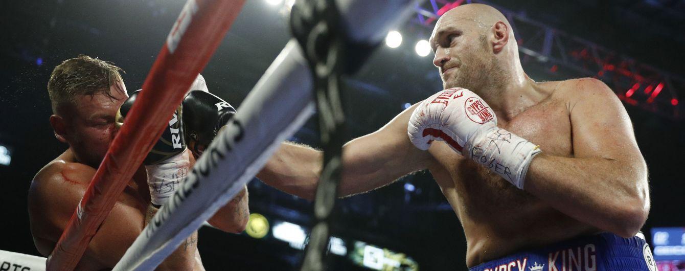 Фьюри уже во втором раунде нокаутировал Шварца и стал интерконтинентальным чемпионом