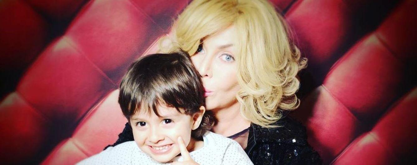 Ірина Білик замилувала веселим фото підрослого сина