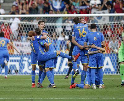 Пятеро украинцев попали в символическую сборную Чемпионата мира U-20