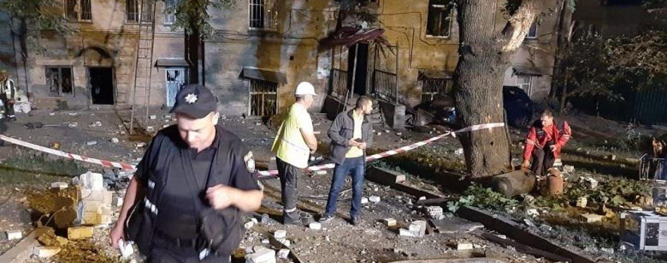 Полиция назвала основную версию взрыва в Киеве