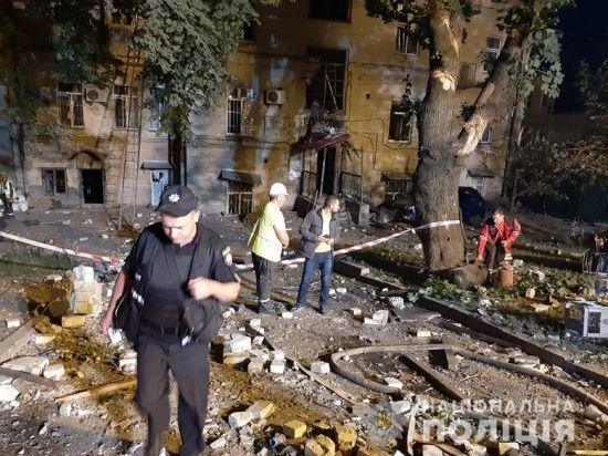 Поліція назвала основну версію вибуху в Києві