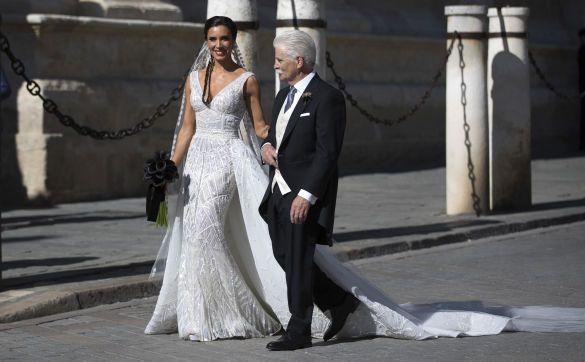 Дружина Рамоса з батьком, весілля