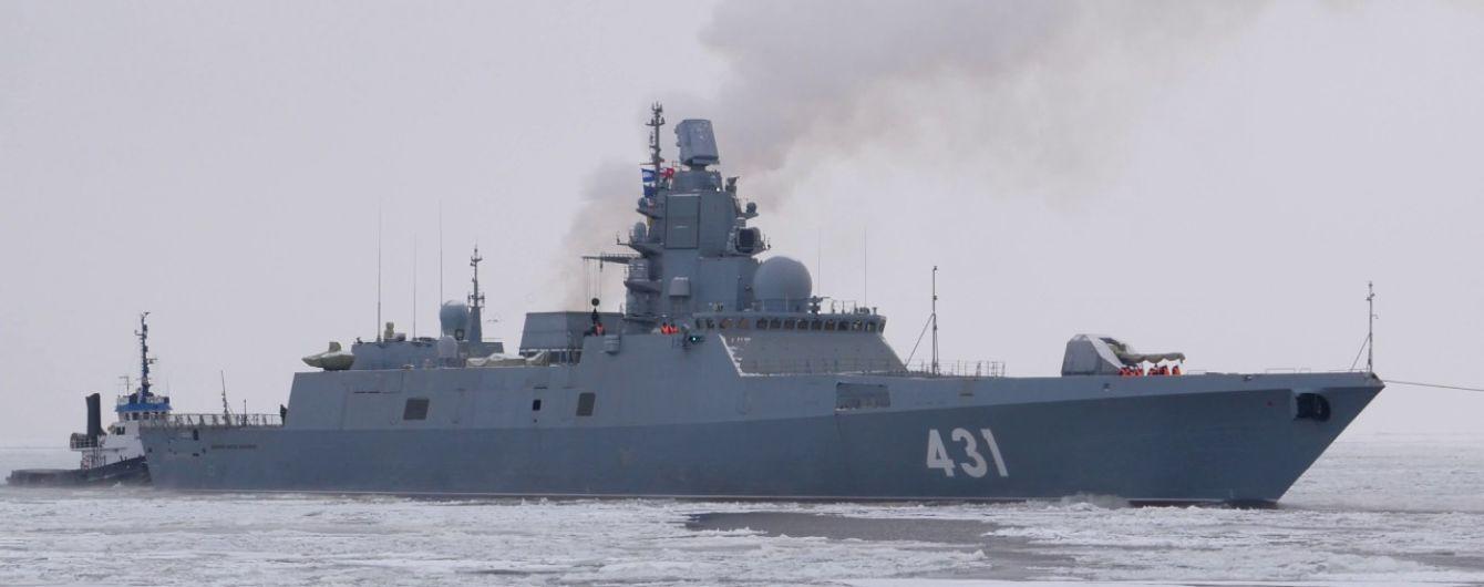 У берегов Латвии вновь заметили российский корабль