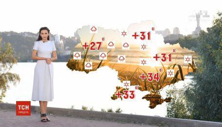 Синоптики предупреждают о грозах и жаре: прогноз погоды в Украине
