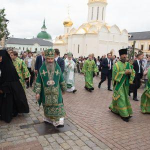Опоблоківець Новинський та митроролит Онуфрій зустрілися у Росії з патріархом Кирилом