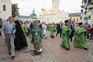 Оппоблоковец Новинский и митроролит Онуфрий встретились в России с патриархом Кириллом