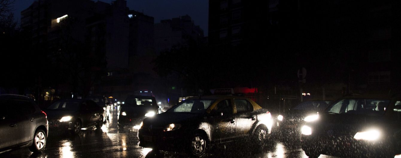 В Аргентине и Уругвае восстановили электроснабжение
