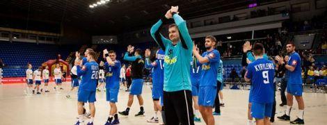 Сборная Украины по гандболу вышла на Чемпионат Европы-2020