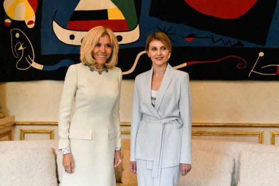 Олена Зеленська зустрілася з першою леді Франції: про що вони говорили