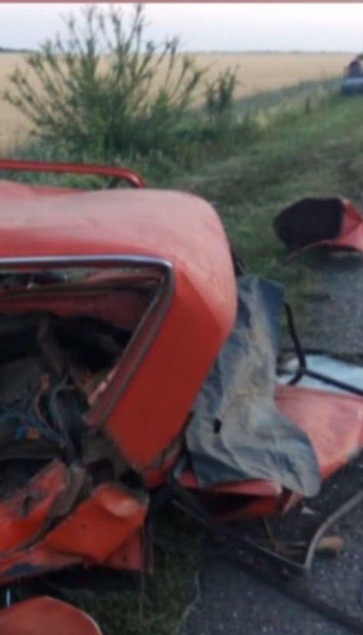 Трое погибших, четверо травмированных в результате аварии в Одесской области