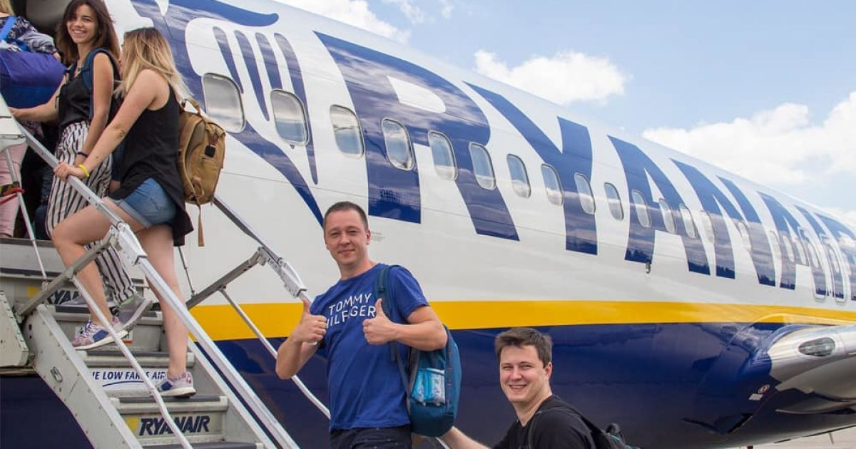Ryanair розпочала літати ще з одного українського міста