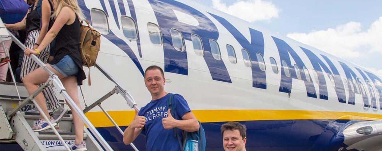 Ryanair осенью вдвое увеличит количество рейсов и маршрутов в Украину