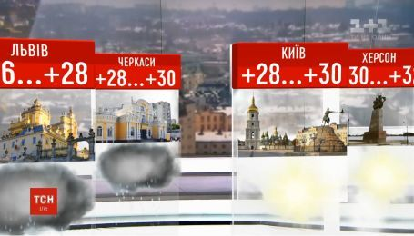 Спека не полишатиме Україну ще тиждень