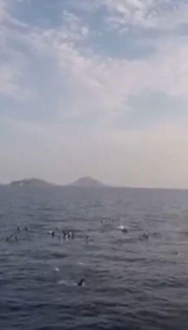 Судно з біженцями затонуло поблизу турецького курорту