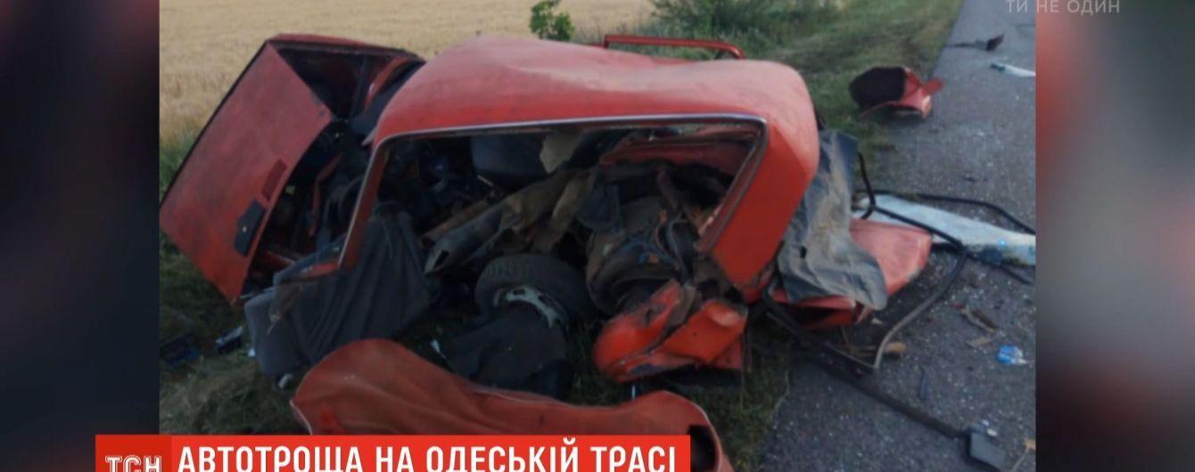 На Одещині в аварії загинули три людини