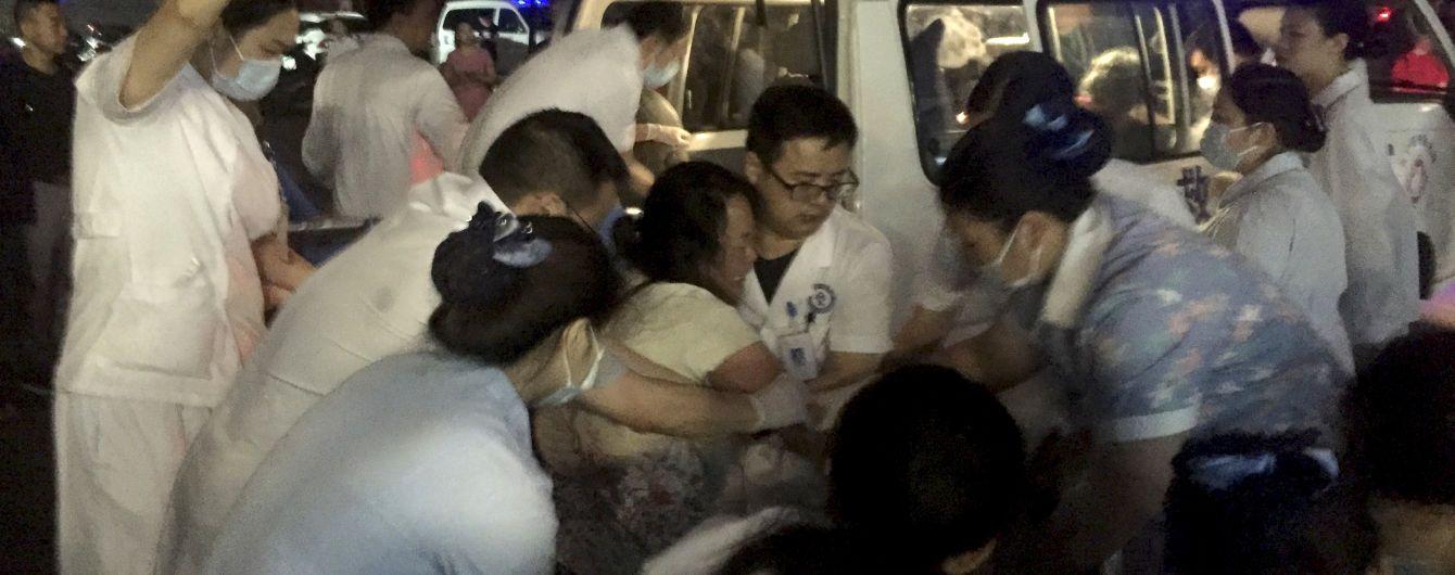 В Китае в результате мощного землетрясения погибли 11 человек