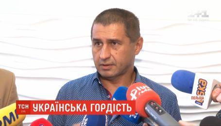 В Польше наградили украинского водителя, который спас людей во время массовой ДТП