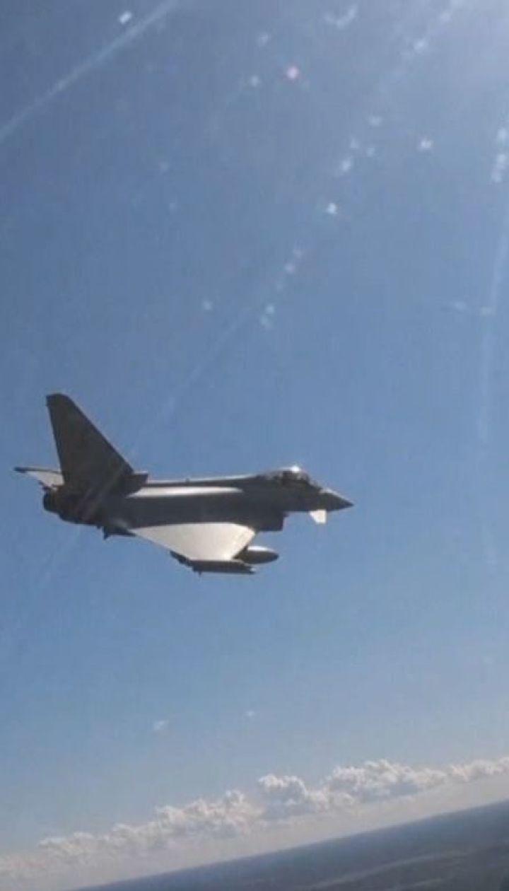 Королевские воздушные силы Великобритании перехватили истребители РФ над Эстонией
