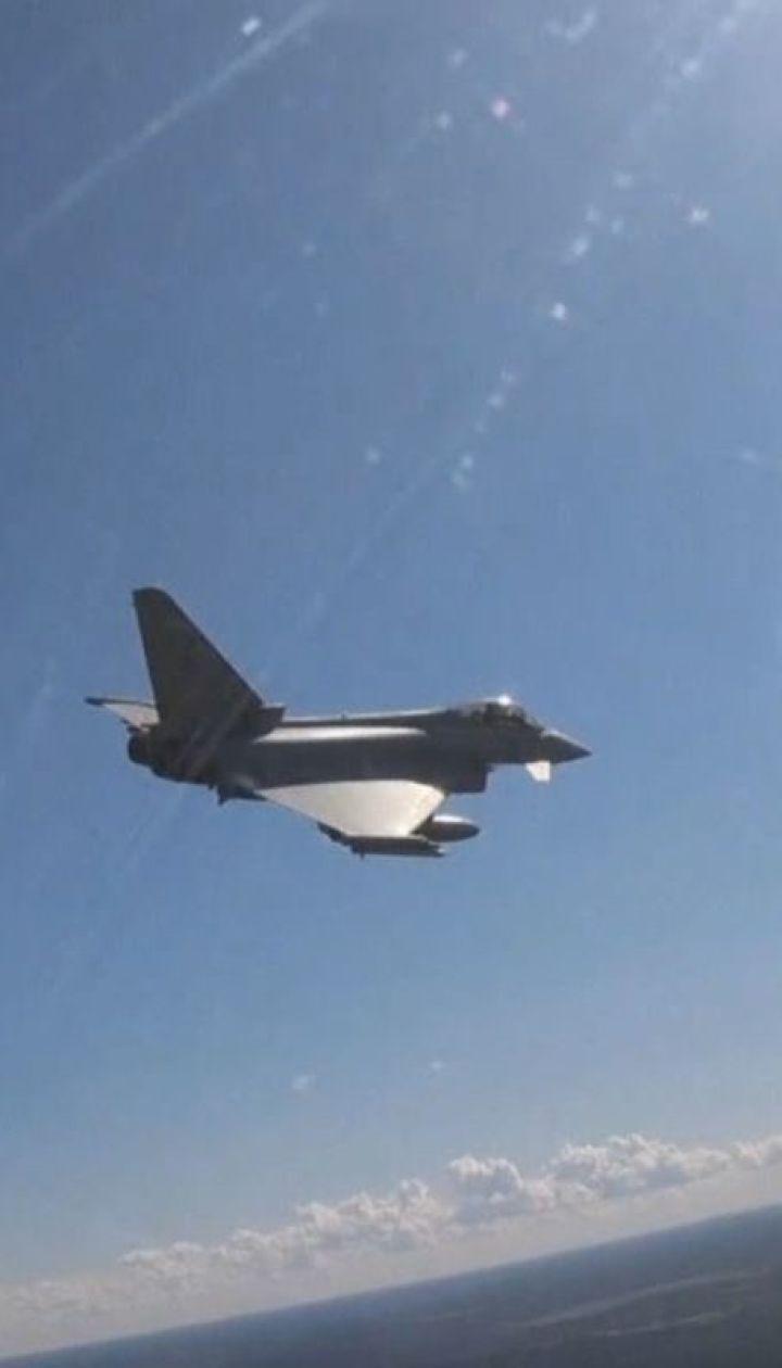 Королівські повітряні сили Великої Британії перехопили винищувачі РФ над Естонією
