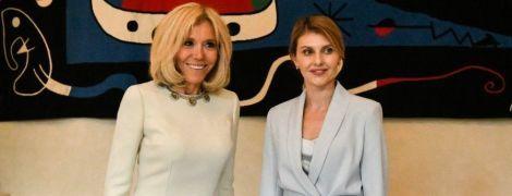 Битва стильных образов первых леди: Елена Зеленская vs Брижит Макрон