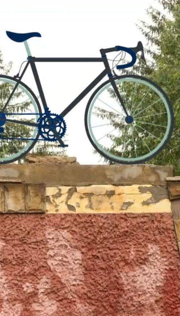 Сніданок побывал в самом велосипедном селе Украины - Великой Коснице