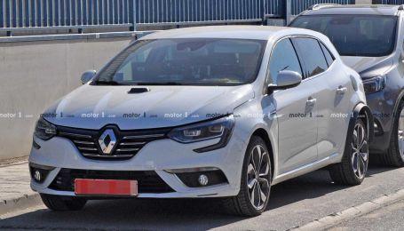 Шпионы засняли гибридные Renault Megane на тестах