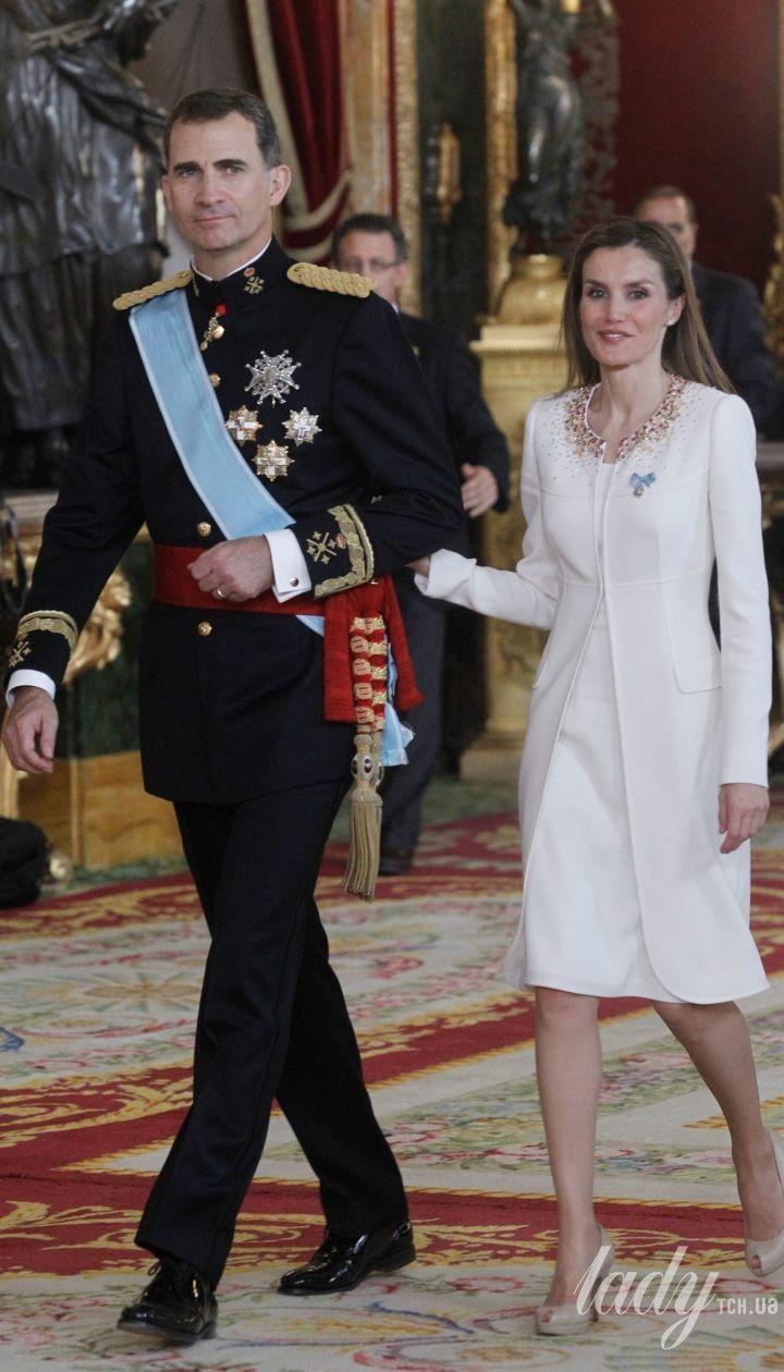 Король Філіп VI і королева Летиція