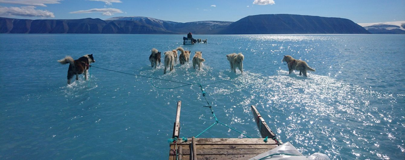 Вирусное фото о рекордном таянии ледников и костюм Cardi B, который лопнул на заднице. Тренды Сети