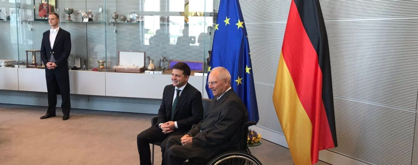 """Зеленський провів """"надзвичайно позитивну"""" зустріч із президентом Бундестагу"""