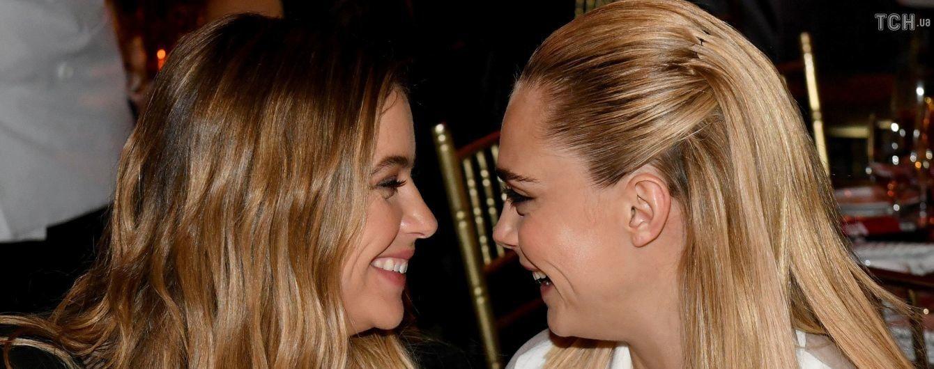 Кара Делевінь публічно підтвердила роман з акторкою та пристрасно її поцілувала
