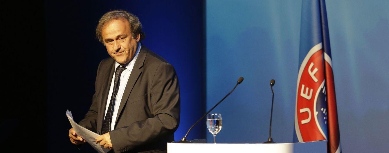 В УЕФА отказались комментировать задержание Платини из-за коррупционного дела