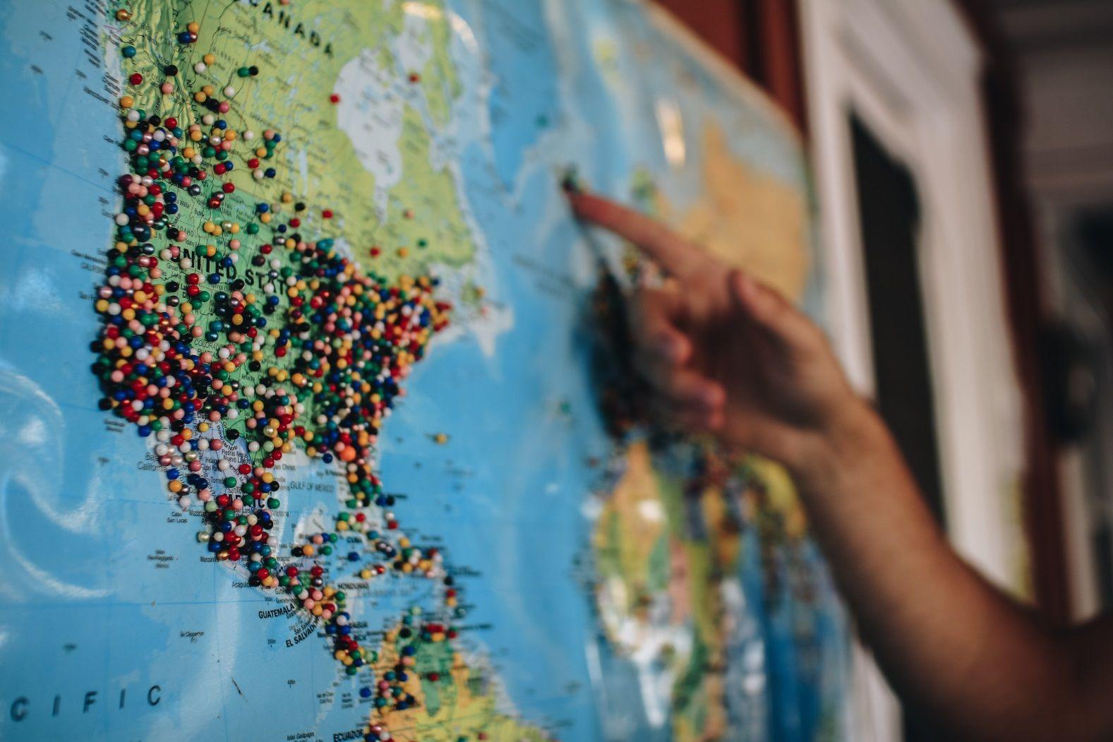 туризм путешествие карта
