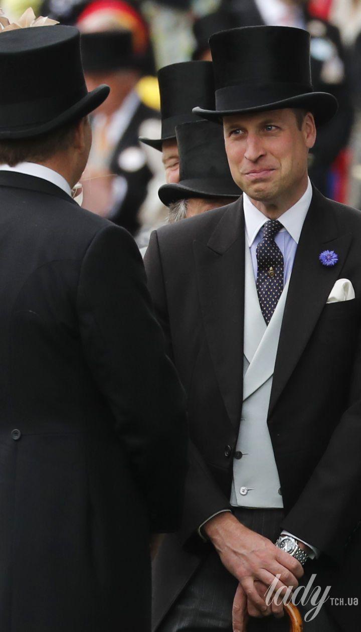 Королевские особы на скачках в Аскоте