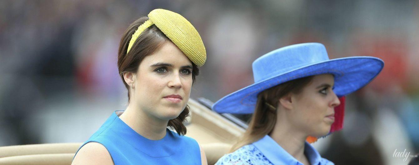 В синих оттенках: принцессы Беатрис и Евгения на конных соревнованиях